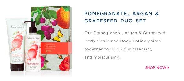 Shop Pomegranate, Argan & Grapeseed Duo.