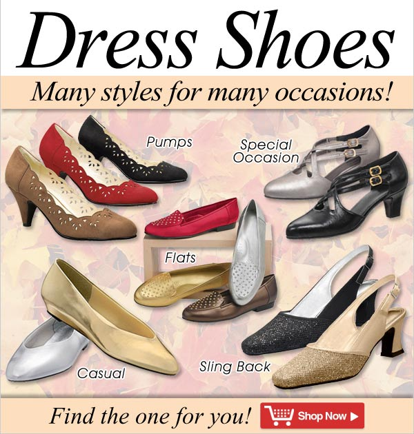 Dress Shoes - Many Styles for Many Occasions! - Shop Now >>