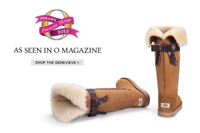 AS SEEN IN O MAGAZINE - SHOP THE GENEVIEVE