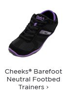Cheeks® Barefoot Neutral Footbed Trainers