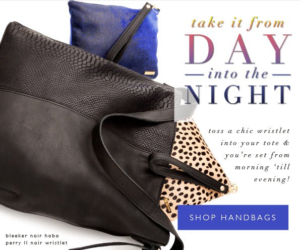 From Day to Night | Transitional Bags