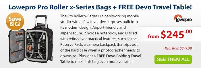Adorama - Lowepro Pro Roller x-Series Mobile Studio