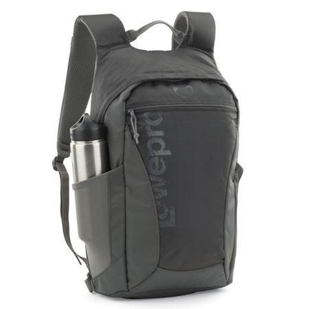 Adorama - Lowepro Photo Hatchback 22L AW Backpack, Slate Gray