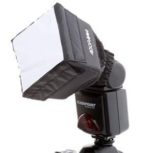 Adorama - Flashpoint Adorama Mini SoftBox Diffuser for Shoe Mount Flashes