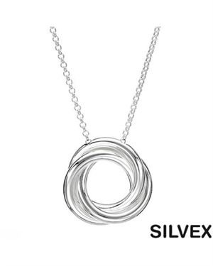 SILVEX Made In Italy Ladies Necklace Made Of 925 Sterling Silver