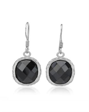 Sterling Silver Earrings with 16.90 CTW Cubic Zirconia