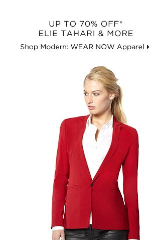 Up To 70% Off* Elie Tahari & More