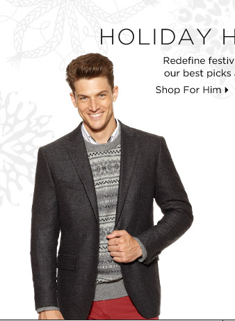 Up To 70% Off* Holiday Style & More