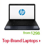 Top-Brand Laptops