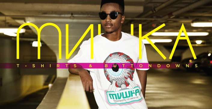 Mishka: T-Shirts and Buttondowns