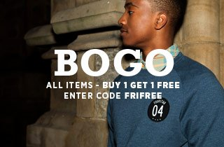 Sweatshirts: Buy 1 Get 1 Free