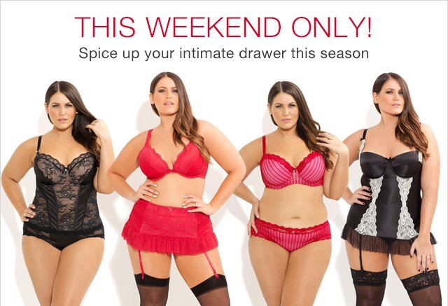 50% off City Chic Lingerie