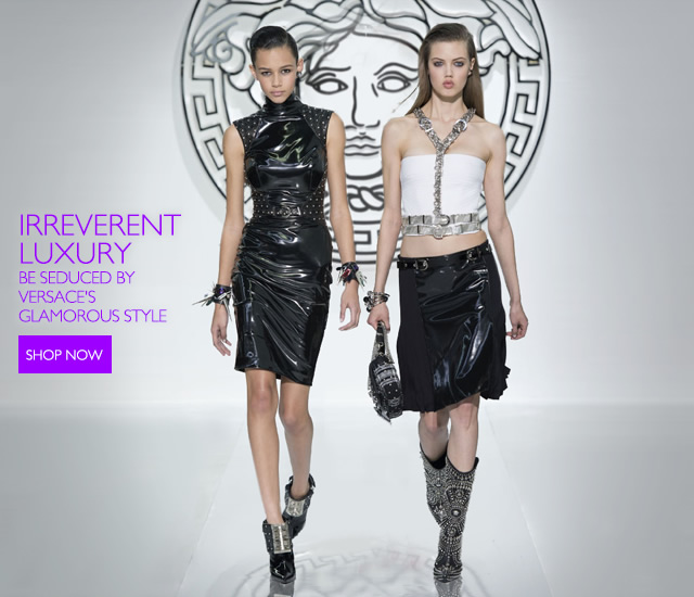Versace Irreverent Luxury - Be seduced by the women's FW collection