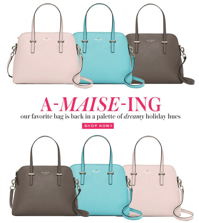 our favorite bag is back in a palette of dreamy holiday hues. shop now.