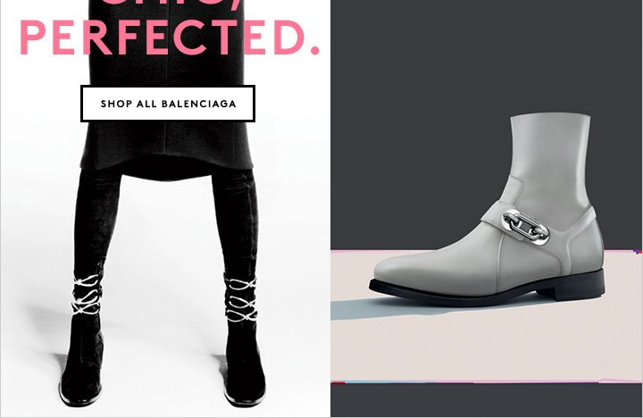 Great style is black and white. Shop Balenciaga now.