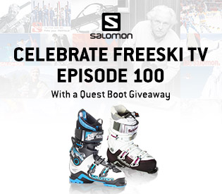 Salomon Quest Boot Giveaway