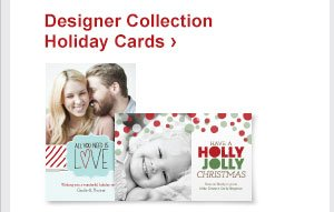 Designer Collection Holiday Cards