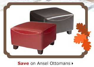 Save on Ansel Ottomans