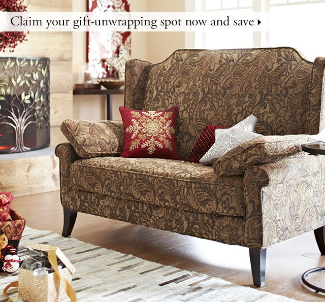 Claim your gift-unwrapping spot now and save