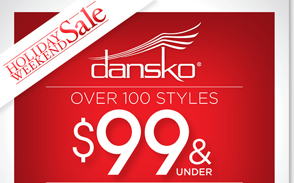Shop over 100 great Dansko styles and save, great selection now $99 and under. Find Professional Clogs, dress styles and more! Enjoy a FREE Cozy Polar Fleece Blanket with any $150 or more purchase.*  Shop now to find the best selection online and in stores at The Walking Company.