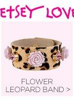 Shop Flower Leopard Band
