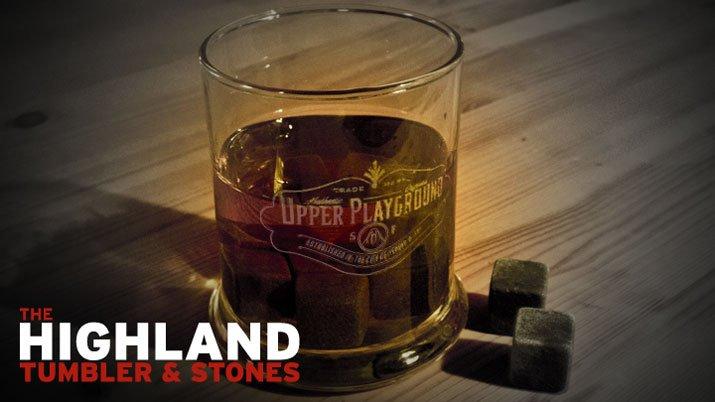 The Highland Tumbler & Stones