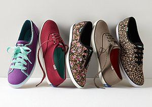 Colorful Fashion Sneakers: Featuring Keds