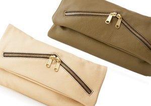 Trend: Zipper-Embellished Handbags