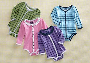 Made in the USA: Baby Bodysuits