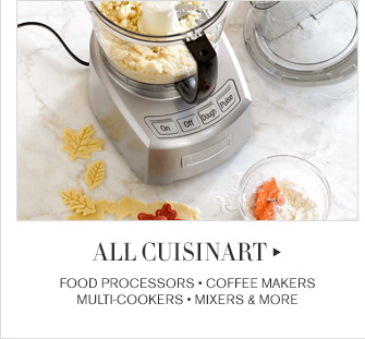 ALL CUISINART - FOOD PROCESSORS - COFFEE MAKERS - MULTI-COOKERS - MIXERS & MORE