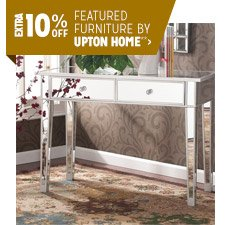Extra 10% off Featured Furniture by Upton Home**
