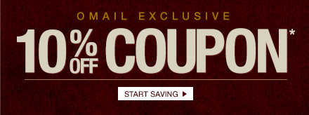 Omail 10% off Coupon* - Start Saving