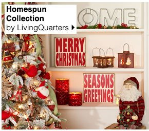 Homespun Collection by LivingQuarters.  Shop now.