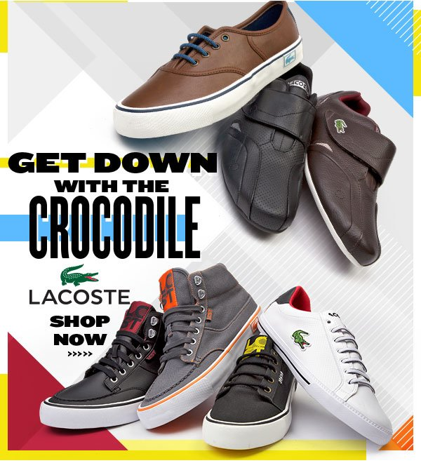 Get Down with Lacoste