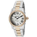 Invicta 14377 Women's Angel Silver Dial Two Tone Steel Diamond Accented Watch