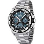 Festina F16658-3 Men's Chrono Bike Light Blue Dial Steel Bracelet Date Watch
