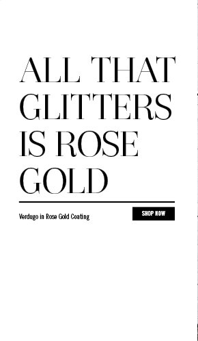 All That Glitters Is Rose Gold
