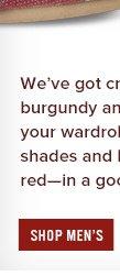Shop Men's Holiday Reds