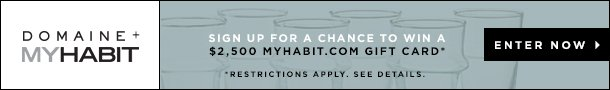 Win $2500 MyHabit Gift Card. Enter Now.