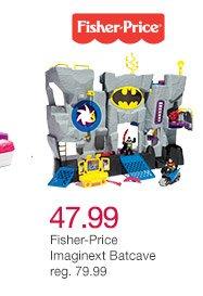 47.99 Fisher-Price Imaginext Batcave reg. 79.99