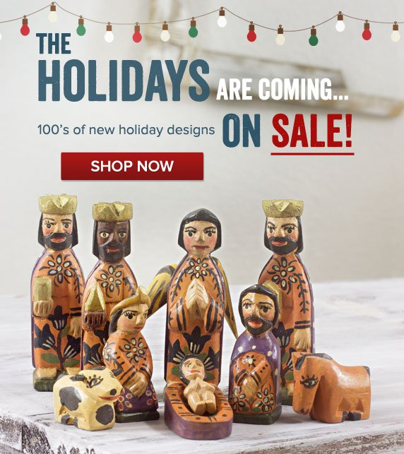 The Holidays Are Coming... 100's of new holiday designs ON SALE - Shop Now