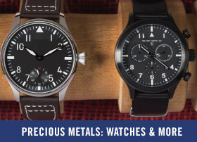 Precious Metals: Watches & More