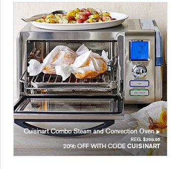 Cuisinart Combo Steam and Convection Oven, REG. $299.95 -- 20% OFF WITH CODE CUISINART