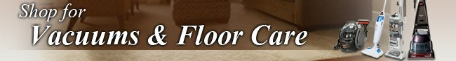 shop for vacuums and floor care.
