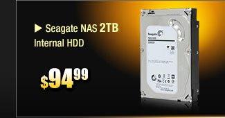 Seagate NAS 2TB Internal HDD