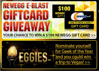 newegg eblast gift card giveaway. Your chance to win a 100usd newegg gift card.