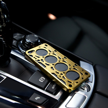 Gasket V8 for iPhone 5/5S // Gold