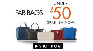 Fab bags under $50