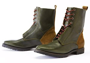 Boots: Lace-Up