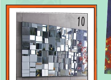 10. perspective mirror 119. reg 149. each